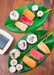 Resep Makanan Jepang Mudah & Lezat!!! Salmon Nigiri Sushi